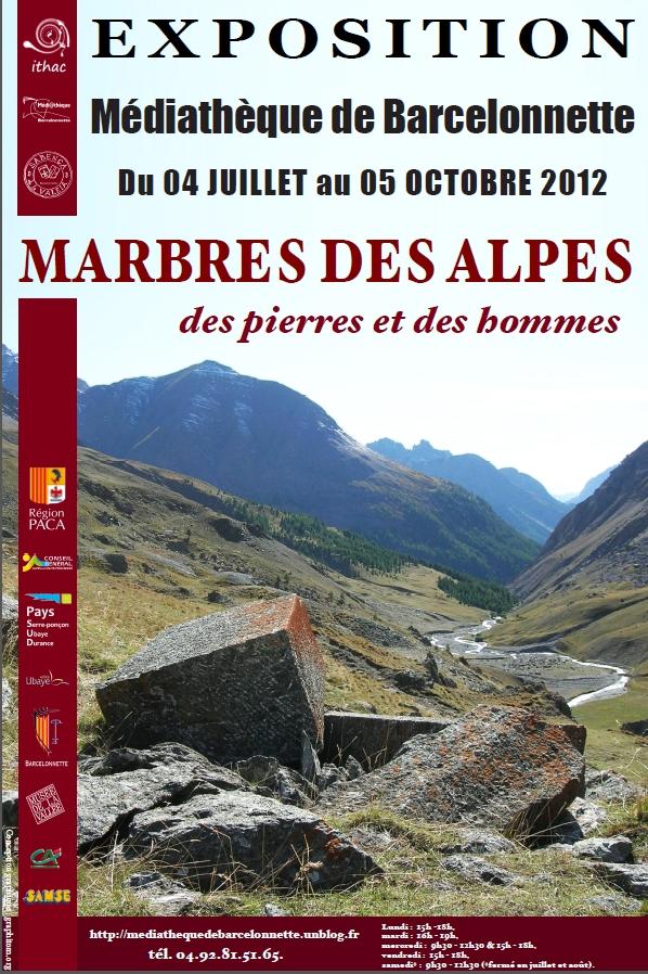 Marbres des Alpes dans Archives affiche-marbre