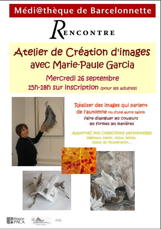 Atelier de Création avec Marie-Paule GARCIA dans Archives animation-Marie-Paule