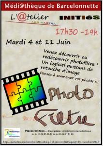 affiche atelier photofiltre