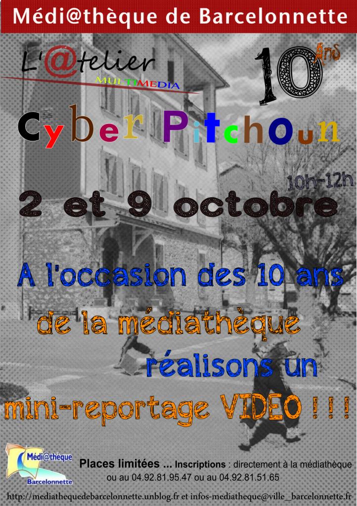 Affiche Cyber pitchoun 2 et 9 octobre 2013 dans Animations Jeunesse 2-te-9-octobre-2013