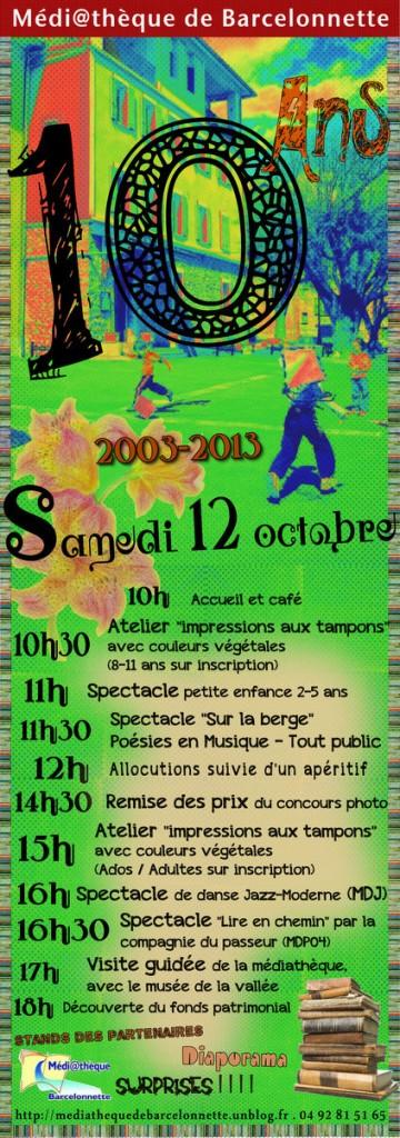 Affiche 10 ans de la médiathèque avec le programme dans Expositions 10-ans-affiche-avec-mdj2