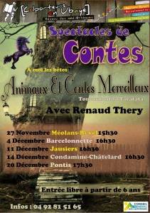 Heure du conte décembre 2013